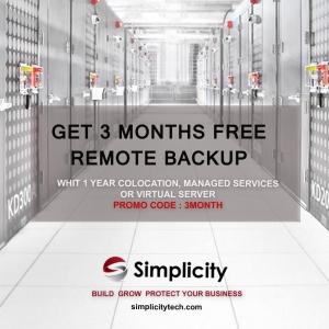 Remote Backup Simplicity Tech